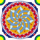 antica decorazione geometrica Fotografia Stock