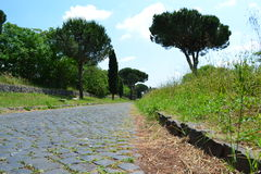 Antica di Appia Fotografia Stock