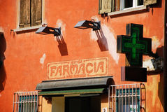Antica Farmacia San Simone Fotografia Stock