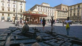Antica Firenze del carosello Fotografia Stock Libera da Diritti