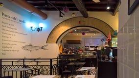 Antica Focacceria S Εστιατόριο του Francesco Στοκ Εικόνες