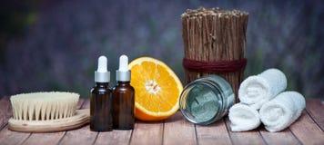 Anticellulite, organische, bio, natuurlijke schoonheidsmiddelen Remedie voor cellu stock foto's
