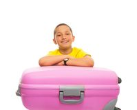 Anticipating vacation Stock Photography