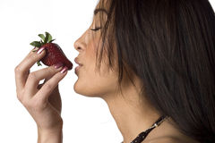 anticipation strawberry Στοκ εικόνες με δικαίωμα ελεύθερης χρήσης