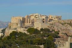 Antico, acropoli Immagini Stock Libere da Diritti