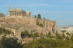 Antico, acropoli Fotografia Stock
