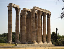 Antico a Atene Grecia Immagine Stock Libera da Diritti