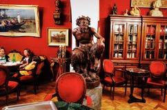Antico Caffe Greco, ο παλαιότερος φραγμός στη Ρώμη Στοκ Φωτογραφίες