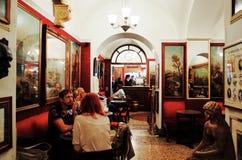 Antico Caffe Greco, самый старый бар в Риме Стоковая Фотография