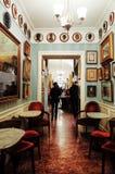 Antico Caffe Greco, la barra más vieja de Roma imagen de archivo libre de regalías