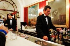 Antico Caffe Greco stary bar w Rzym obraz royalty free