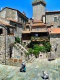 Antico di Capalbio di Borgo Immagine Stock Libera da Diritti