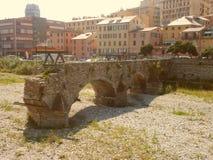 Antico Ponte di Sant Agata fotografia de stock