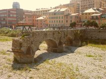 Antico Ponte di Sant Agata stock photography