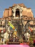 Antico tailandese rimane Fotografie Stock Libere da Diritti