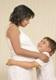 anticpating μωρό στοκ φωτογραφίες με δικαίωμα ελεύθερης χρήσης