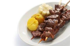 Anticuchos, Peruvian cuisine Stock Photos