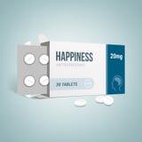 Antidepressants drug box Stock Images