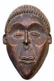 Antiek Afrikaans masker Stock Afbeelding