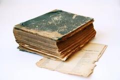 Antiek boek royalty-vrije stock afbeelding