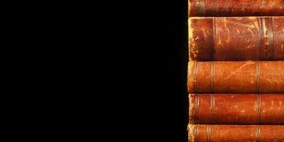 Antiek boekenthema Royalty-vrije Stock Afbeeldingen