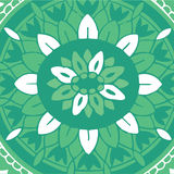 Antiek decoratief textielpatroon Royalty-vrije Stock Foto