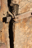 Antiek deur-slot Royalty-vrije Stock Fotografie