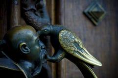 Antiek deurhandvat Royalty-vrije Stock Foto