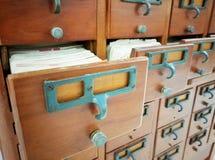 Antiek document met blanco pagina stock foto