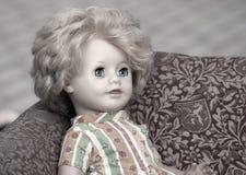 Antiek Doll Childs royalty-vrije stock afbeelding