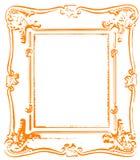 Antiek frame Stock Foto's