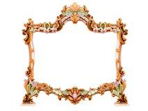 Antiek frame Royalty-vrije Stock Afbeeldingen