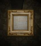 Antiek frame royalty-vrije stock afbeelding
