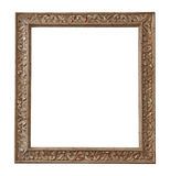 Antiek frame, lege, vrije beeldruimte stock fotografie