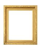 Antiek geïsoleerde frame Stock Foto's