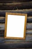 Antiek gouden frame Stock Afbeeldingen