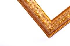 Antiek gouden frame Royalty-vrije Stock Foto's