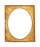 Antiek gouden frame Royalty-vrije Stock Afbeelding