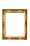 Antiek gouden frame Royalty-vrije Stock Afbeeldingen