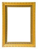 Antiek gouden kader royalty-vrije stock afbeelding