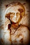 Antiek Grieks Art Barble Background Royalty-vrije Stock Fotografie