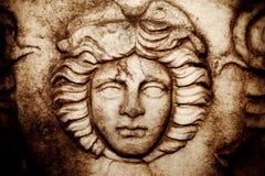 Antiek Grieks Art Barble Background Royalty-vrije Stock Foto