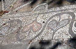 Antiek Grieks mozaïek Royalty-vrije Stock Afbeeldingen