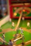 Antiek Honkbal Arcade Game Royalty-vrije Stock Afbeeldingen