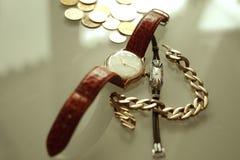 Antiek horloge Royalty-vrije Stock Afbeeldingen