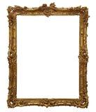 Antiek houten frame Stock Afbeeldingen