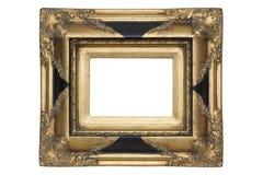 Antiek houten frame Royalty-vrije Stock Afbeeldingen
