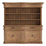 Antiek houten kabinet Royalty-vrije Stock Afbeeldingen