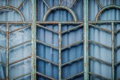 Antiek houten raamkozijn Stock Fotografie