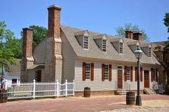 Antiek Huis in Williamsburg Royalty-vrije Stock Afbeeldingen